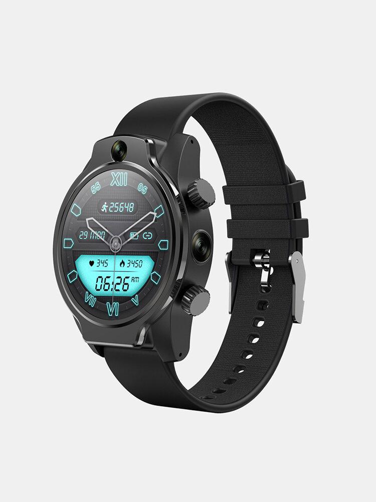 Rogbid Brave True IP68 Waterproof 4G Smart Watch 3G+32G 8MP Dual Camera Face Unlock Built-in GPS Music Game Play Watch P
