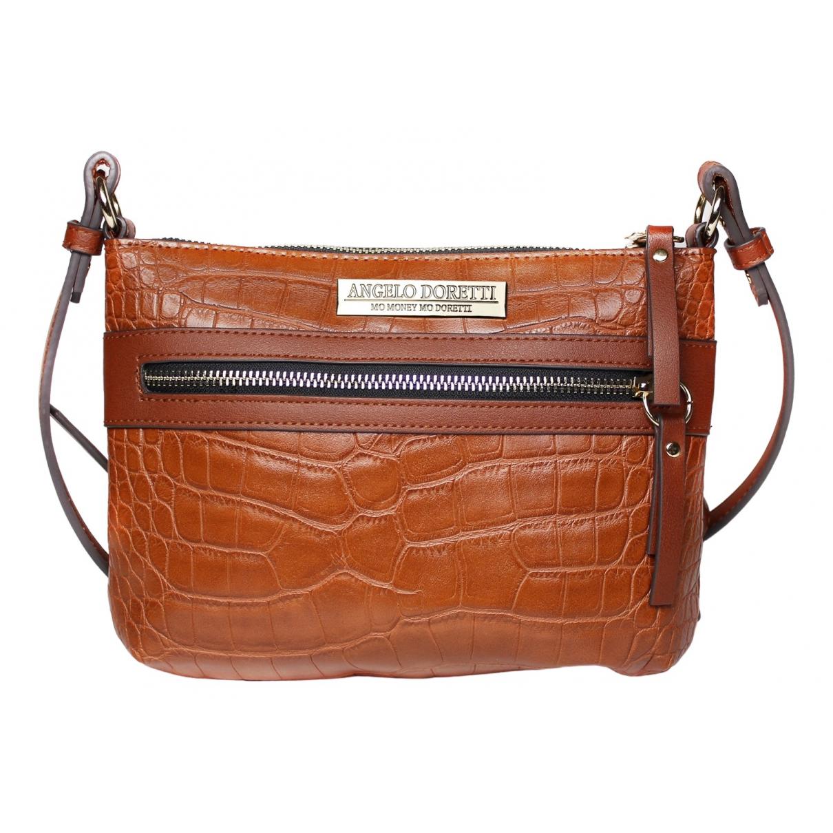Non Signé / Unsigned \N Brown handbag for Women \N