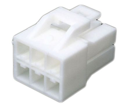 JST , 6 Way, 2 Row, Straight Backplane Connector (10)