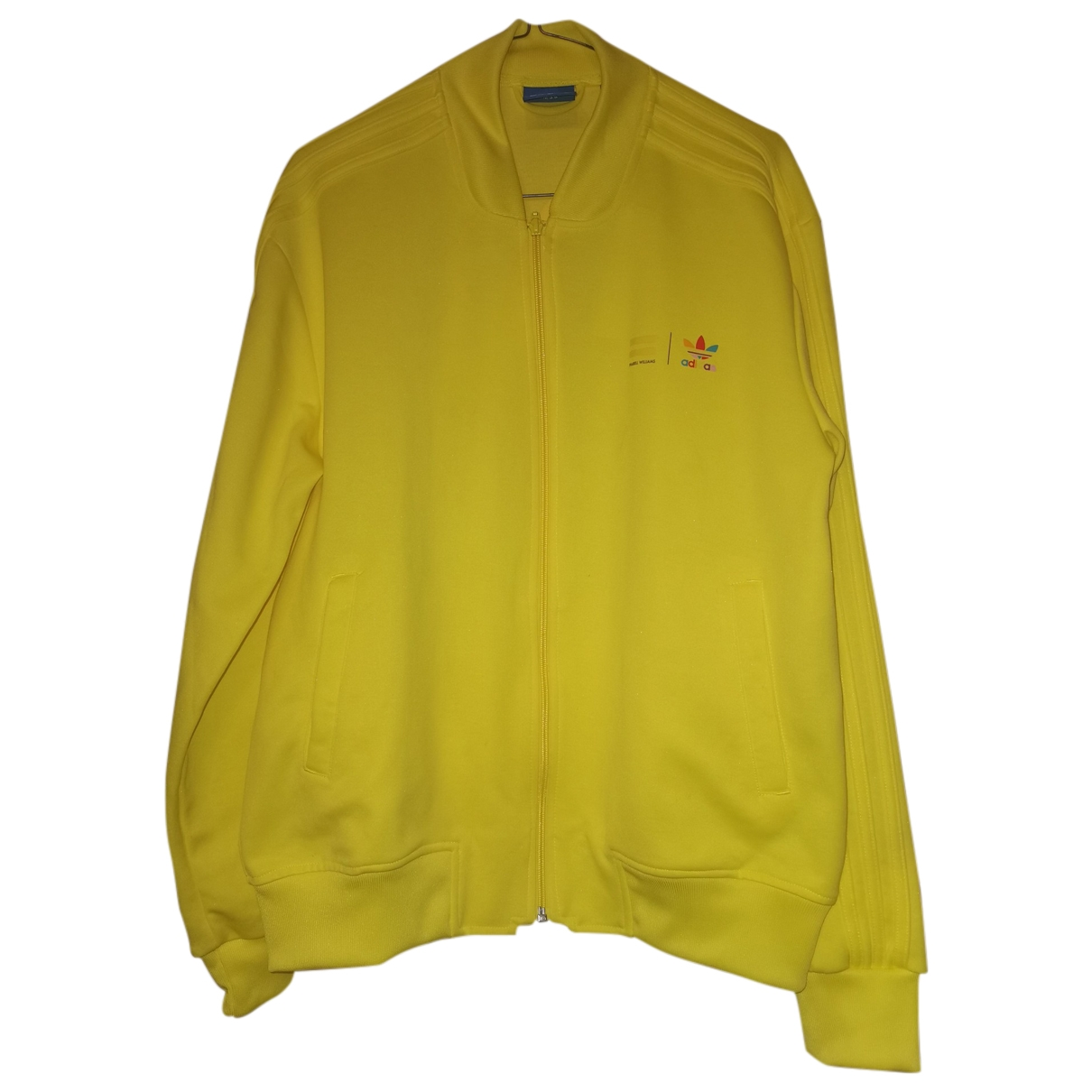 Adidas X Pharrell Williams - Vestes.Blousons   pour homme en coton - jaune