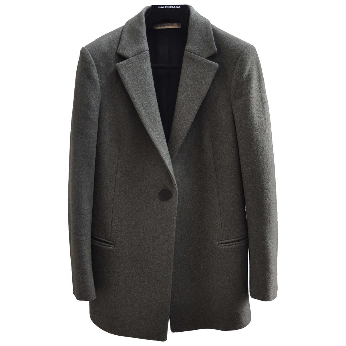 Balenciaga - Veste   pour femme en laine - vert