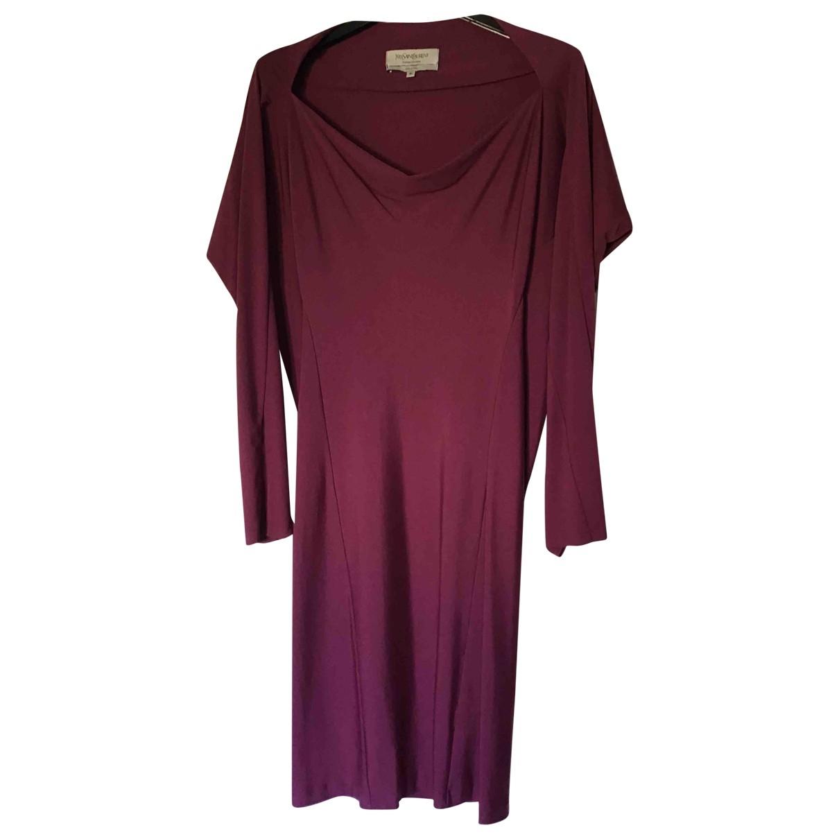 Yves Saint Laurent \N Kleid in Synthetik