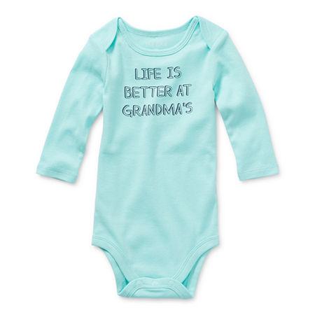 Okie Dokie Baby Unisex Bodysuit, 18 Months , Blue