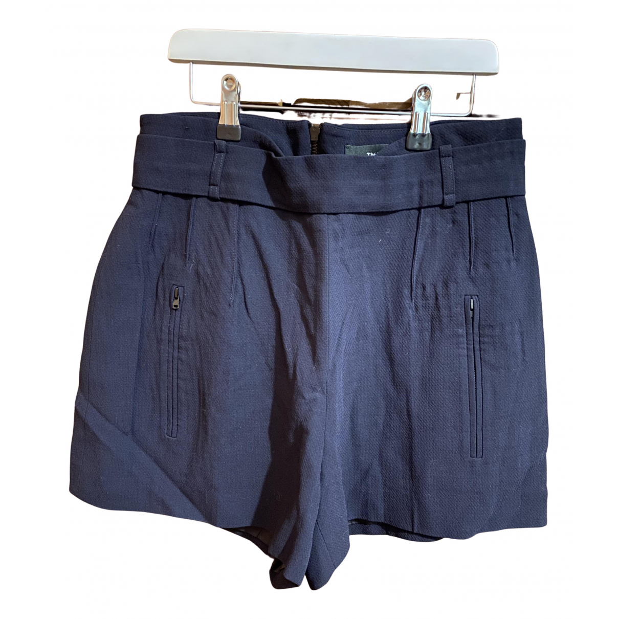 The Kooples N Black Shorts for Women 40 FR