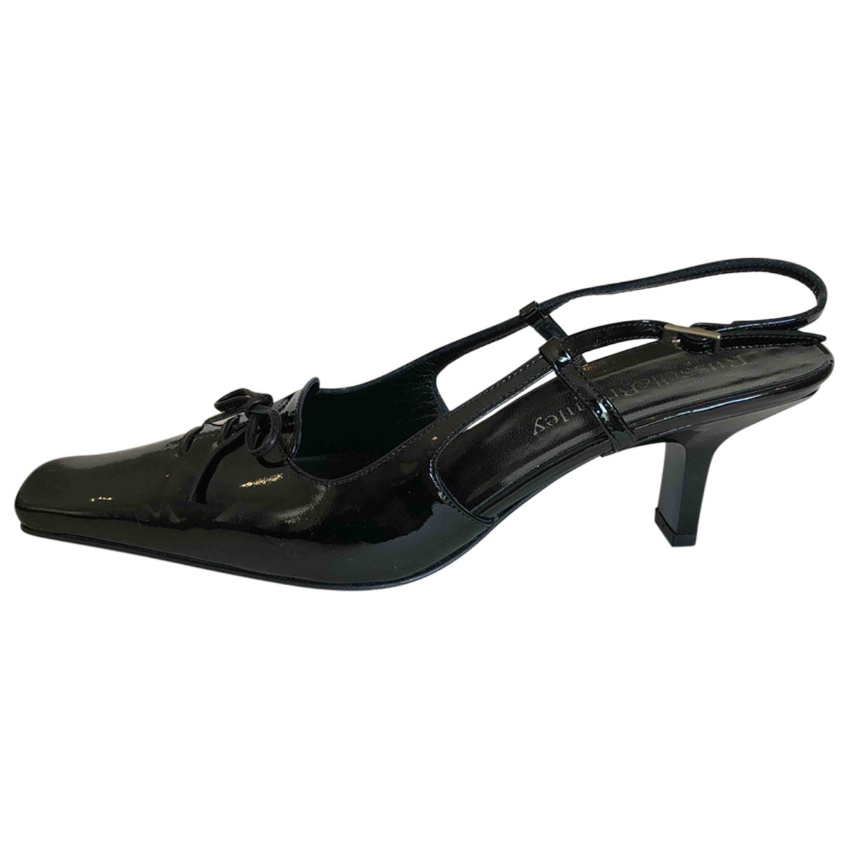 Russell & Bromley N Black Patent leather Sandals for Women 38 EU