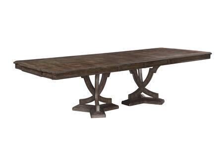 256221-2316 Landmark Double Pedestal Dining Table in