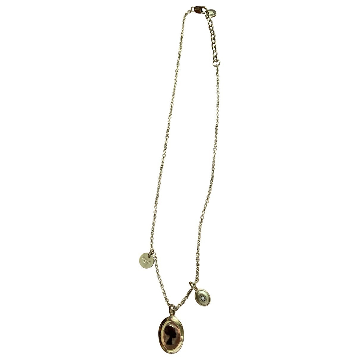 Dyrberg/kern \N Gold gold and steel Long necklace for Women \N