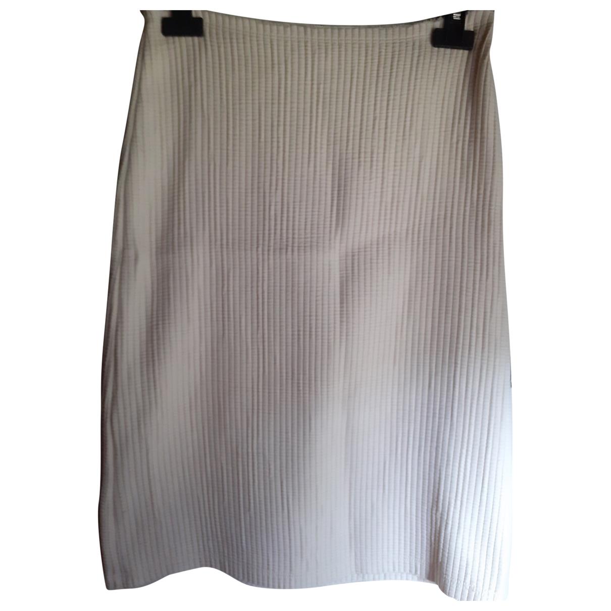 Aspesi - Jupe   pour femme en coton - blanc