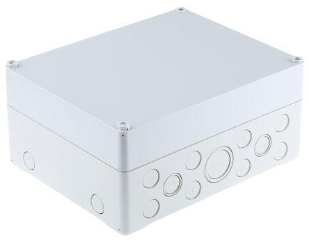 Spelsberg AK Compact Range, Grey Polystyrene Enclosure, IP65, 250 x 200 x 113mm