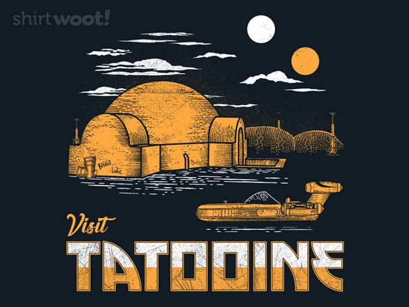 Visit Tatooine T Shirt