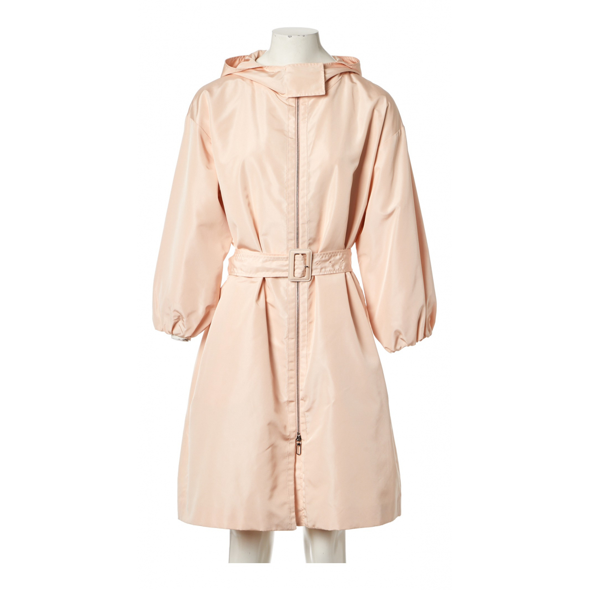 Christian Dior \N Trench in  Rosa Seide