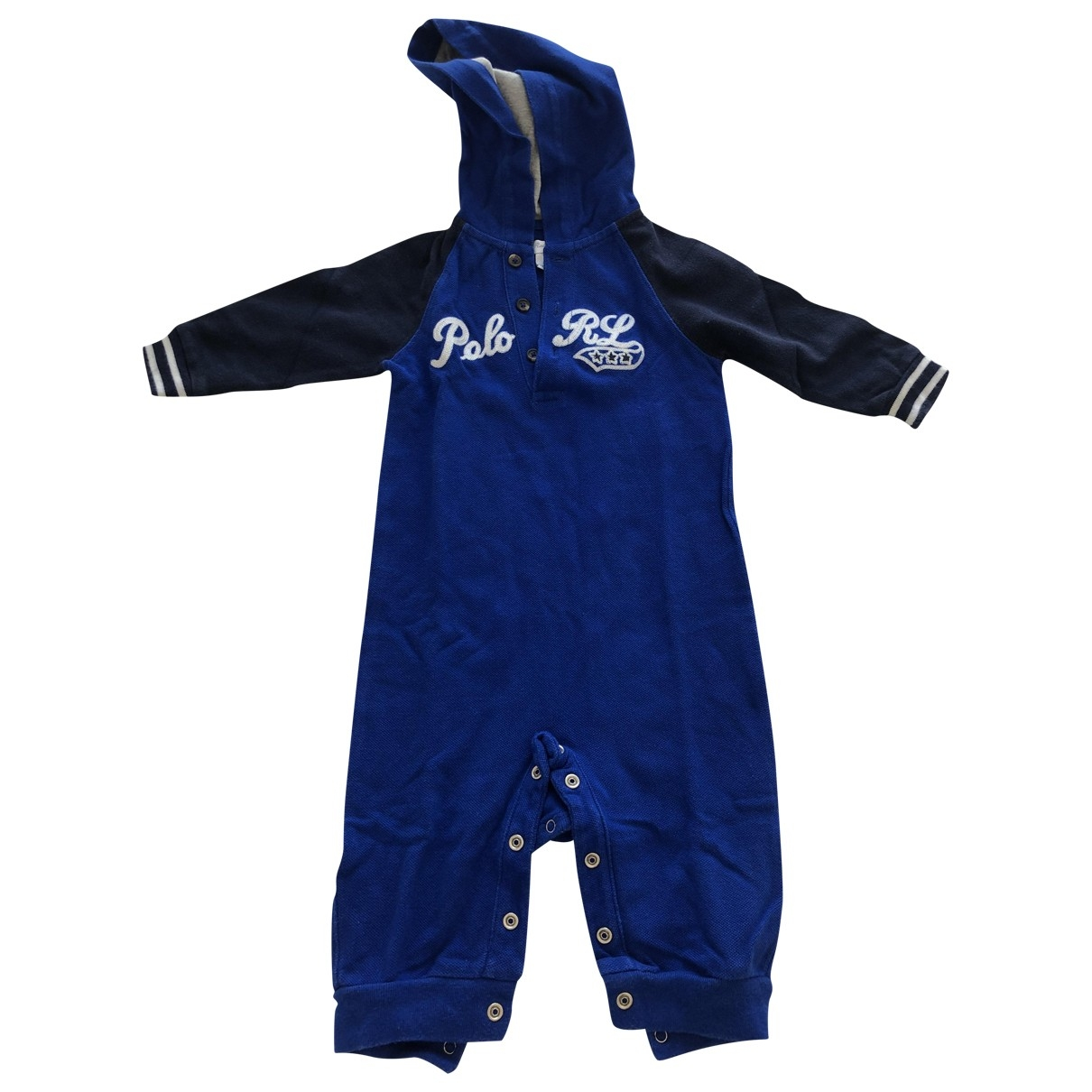 Polo Ralph Lauren \N Blue Cotton Outfits for Kids 6 months - until 26.5 inches UK