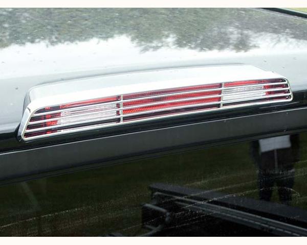Quality Automotive Accessories ABS | Chrome Brake Light Bezel Nissan Titan 2009