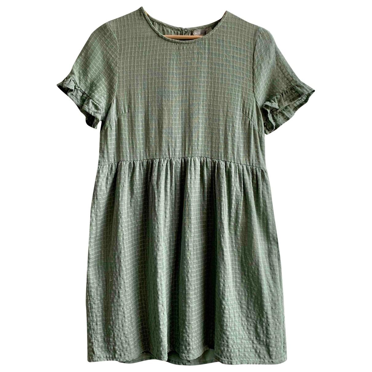 Asos \N Kleid in  Gruen Polyester