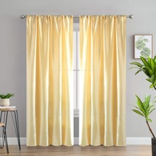 Solid Color Single Panel Curtain
