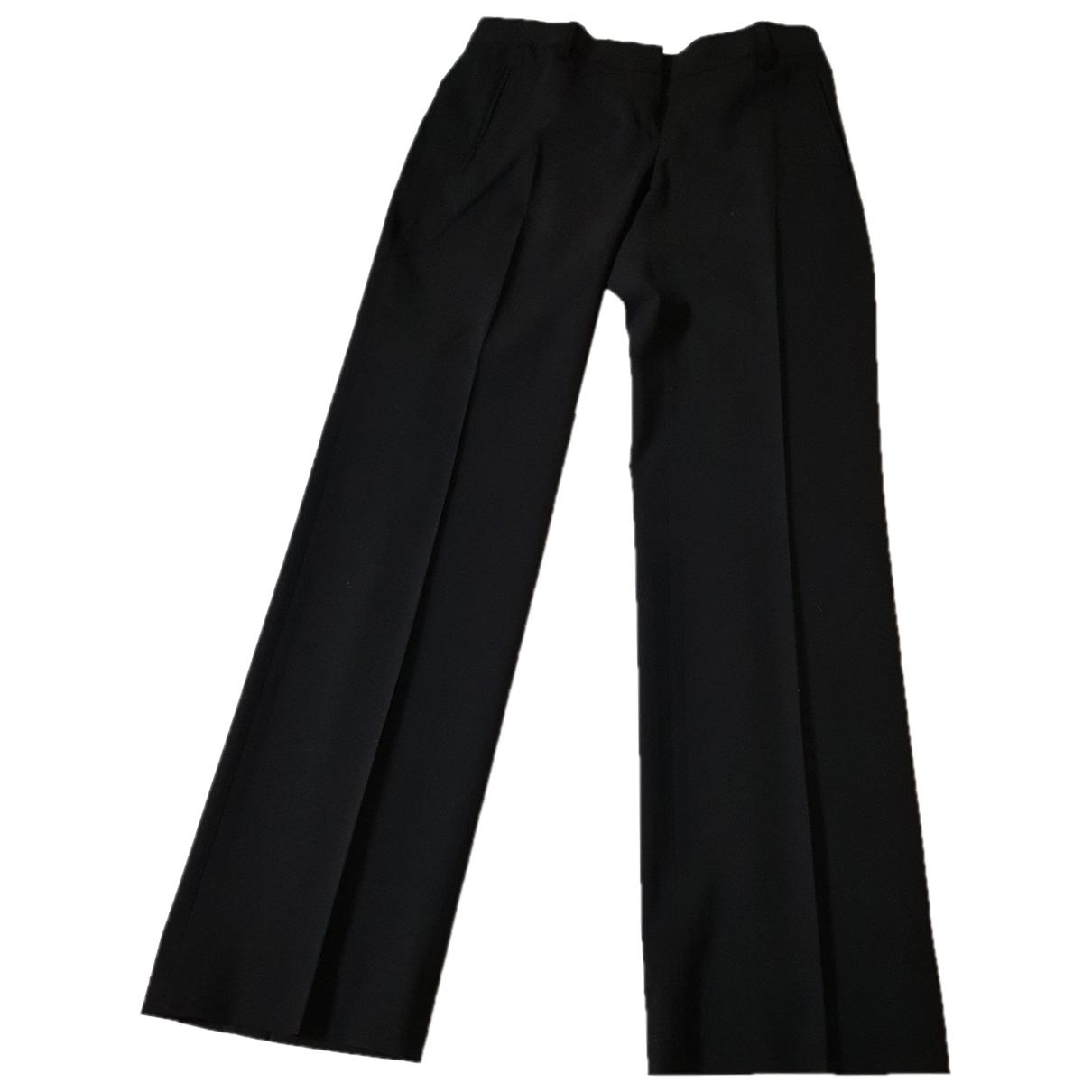 Pantalon recto de Lana Massimo Dutti