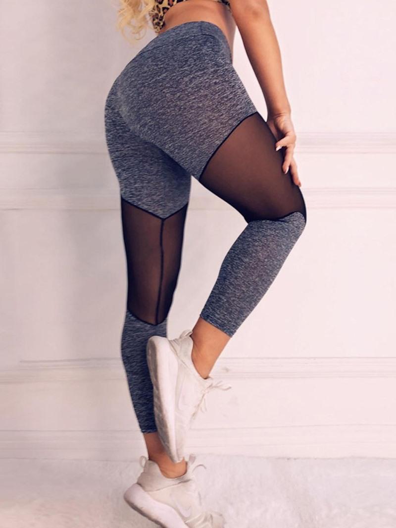 Ericdress Sports Patchwork Women's Leggings