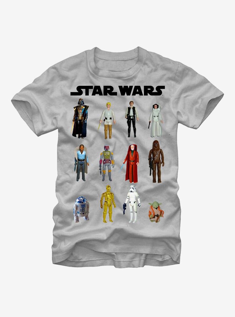 Star Wars Vintage Action Figures T-Shirt