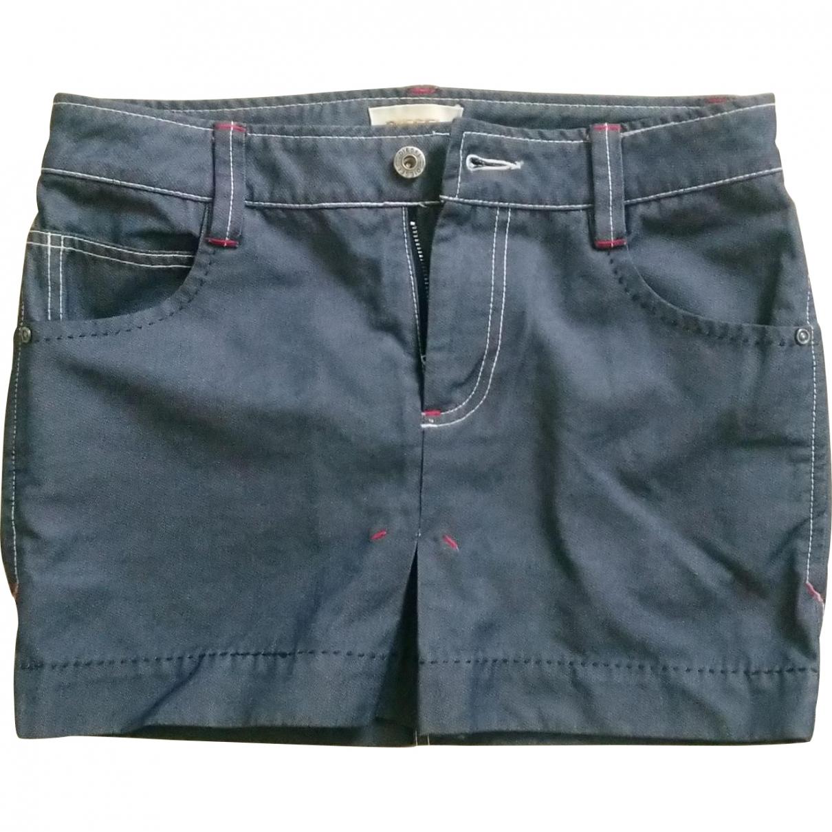 Diesel \N Blue Cotton skirt for Women 34 FR
