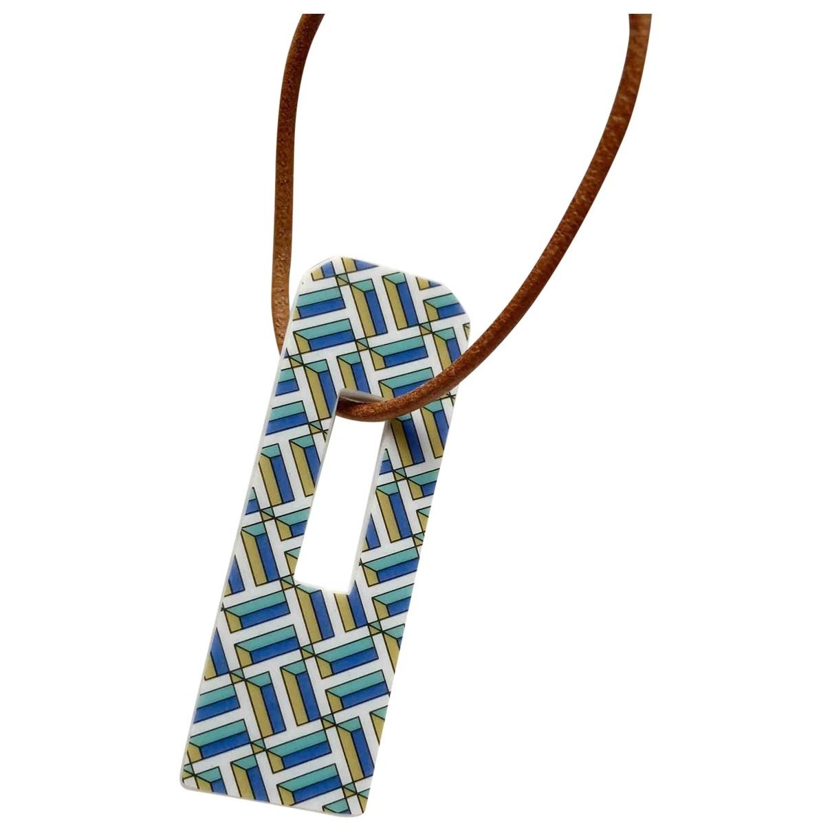 Hermes - Bijoux de sac Petit H pour femme en ceramique - multicolore