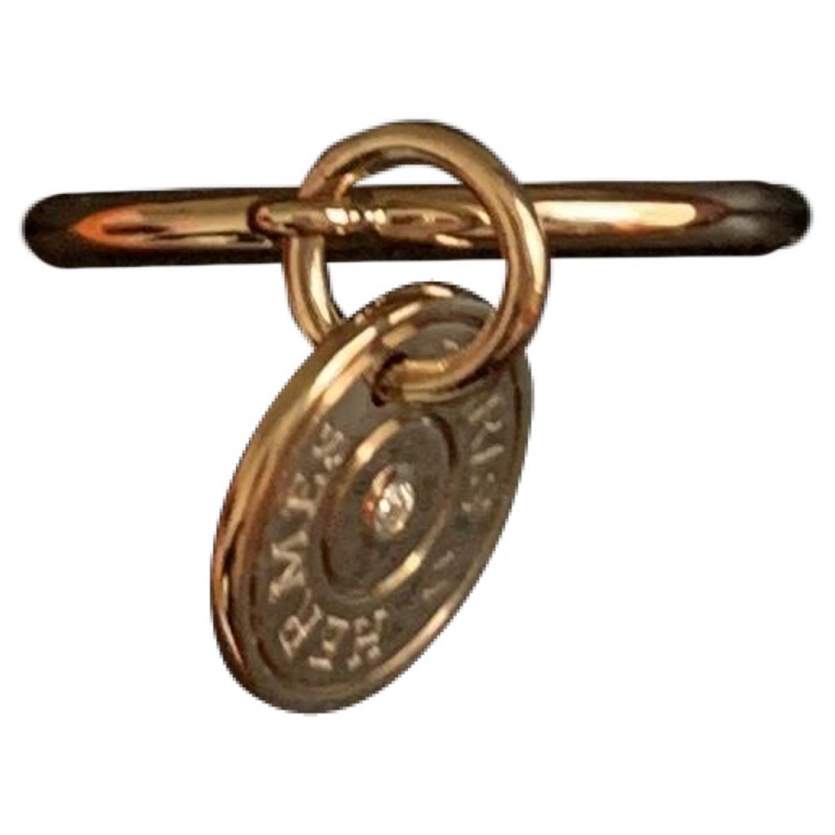 Hermes - Bague   pour femme en or rose - dore