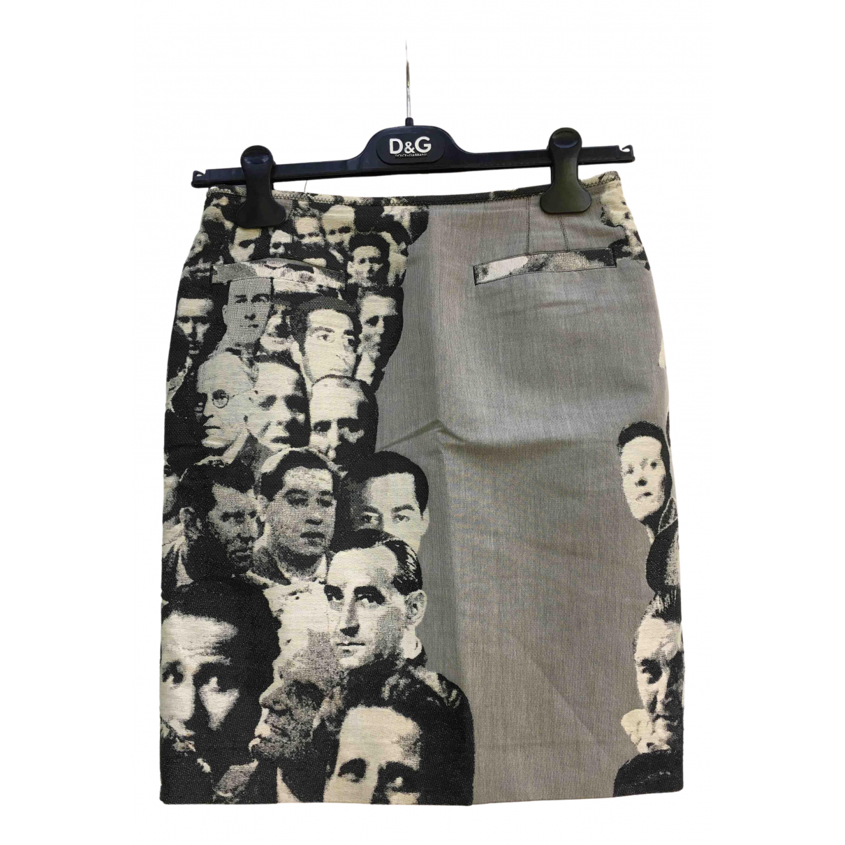Jean Paul Gaultier N Multicolour Cotton skirt for Women 36 FR