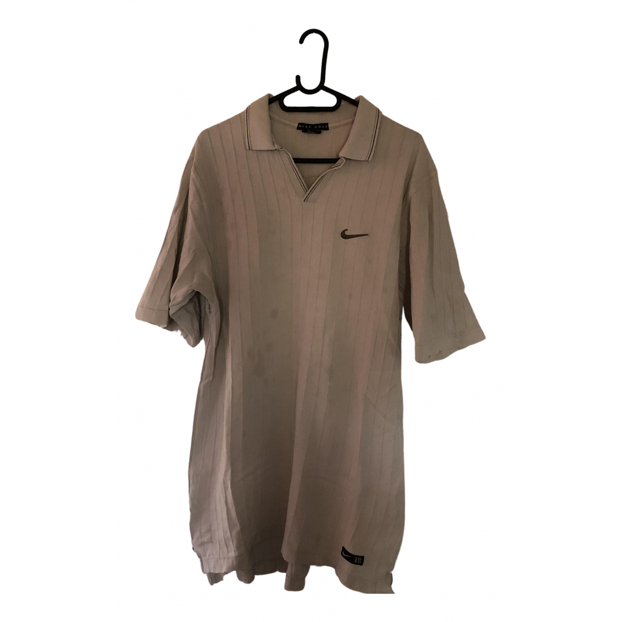 Nike - Polos   pour homme - beige