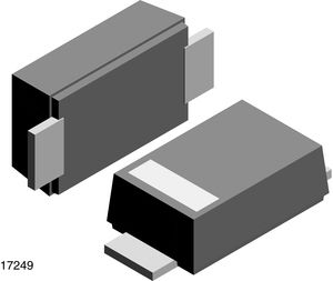 Vishay Switching Diode, 1.5A 400V, 2-Pin DO-219AB S07G-GS08 (3000)