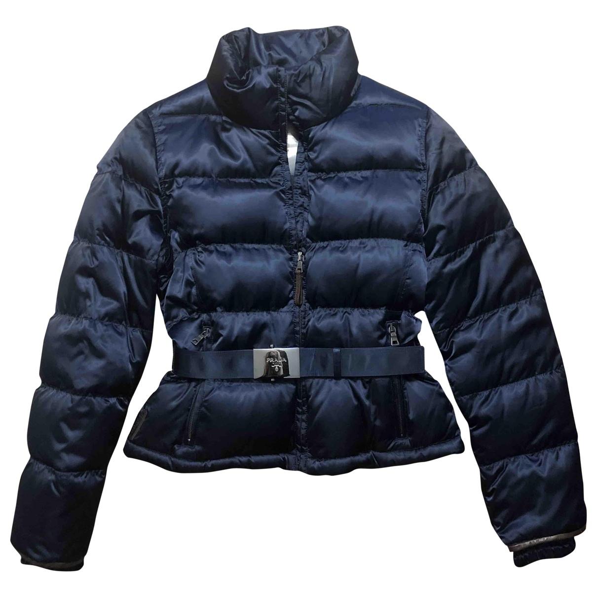 Prada \N Navy jacket for Women 42 IT