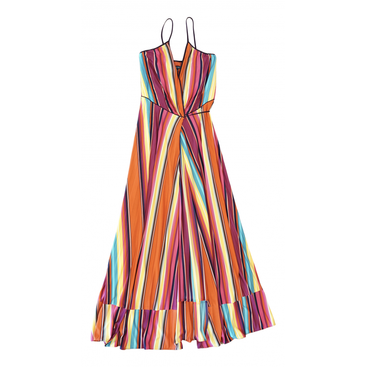 Non Signé / Unsigned \N Multicolour Silk dress for Women 8 US