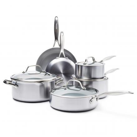 Venice Pro Ceramic Non-Stick 10-Piece Cookware Set