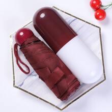 1 pieza mini paraguas de capsula