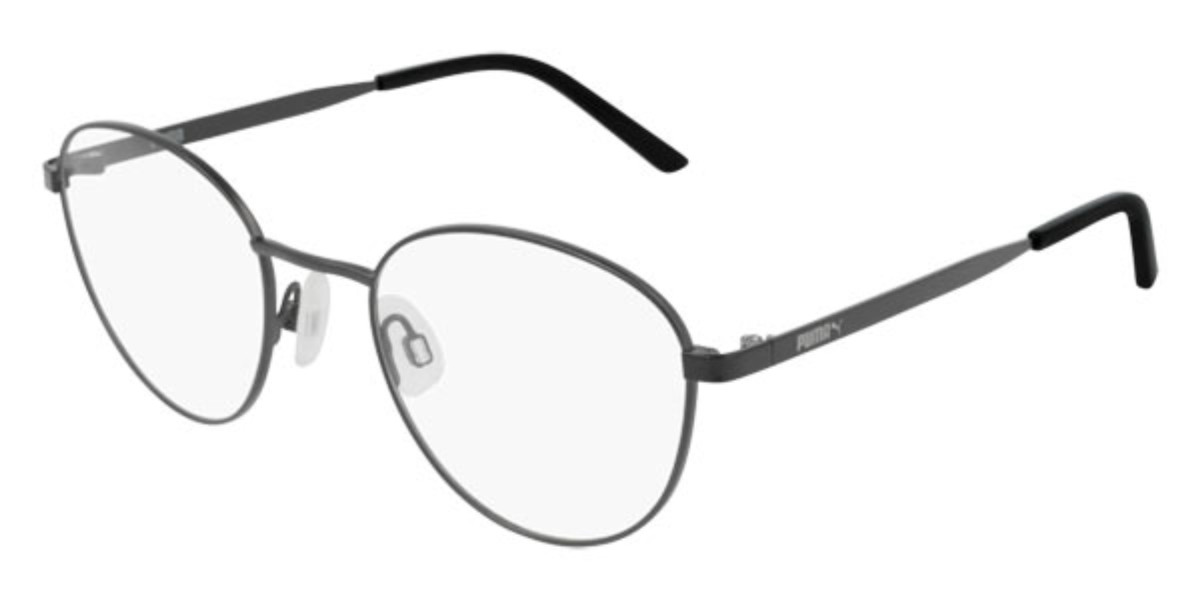 Puma PU0217O 001 Women's Glasses Grey Size 51 - Free Lenses - HSA/FSA Insurance - Blue Light Block Available