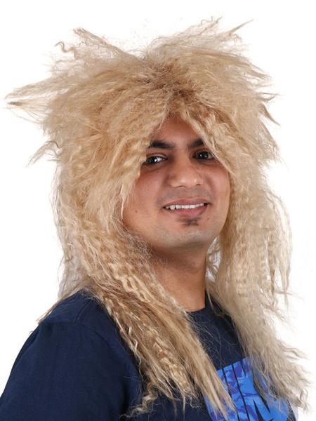 Milanoo Wigs Carnival Costume Crimp Curl Costume Accessories
