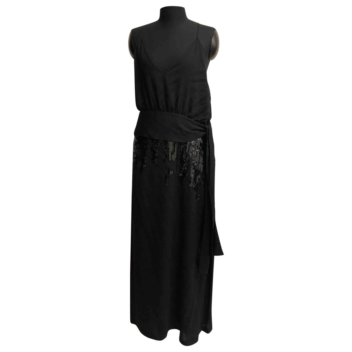 Victoria Beckham - Robe   pour femme en soie - noir