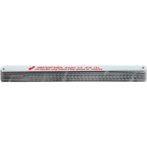 Milwaukee 12 in. 32 TPI Bi-Metal Hacksaw Blades (10 Pack)