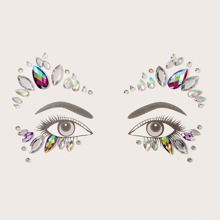 1sheet Rhinestone Eye Tattoo Sticker