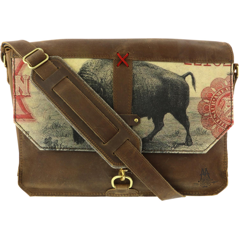 Revere Soft Graphic Messenger Bag - Ten