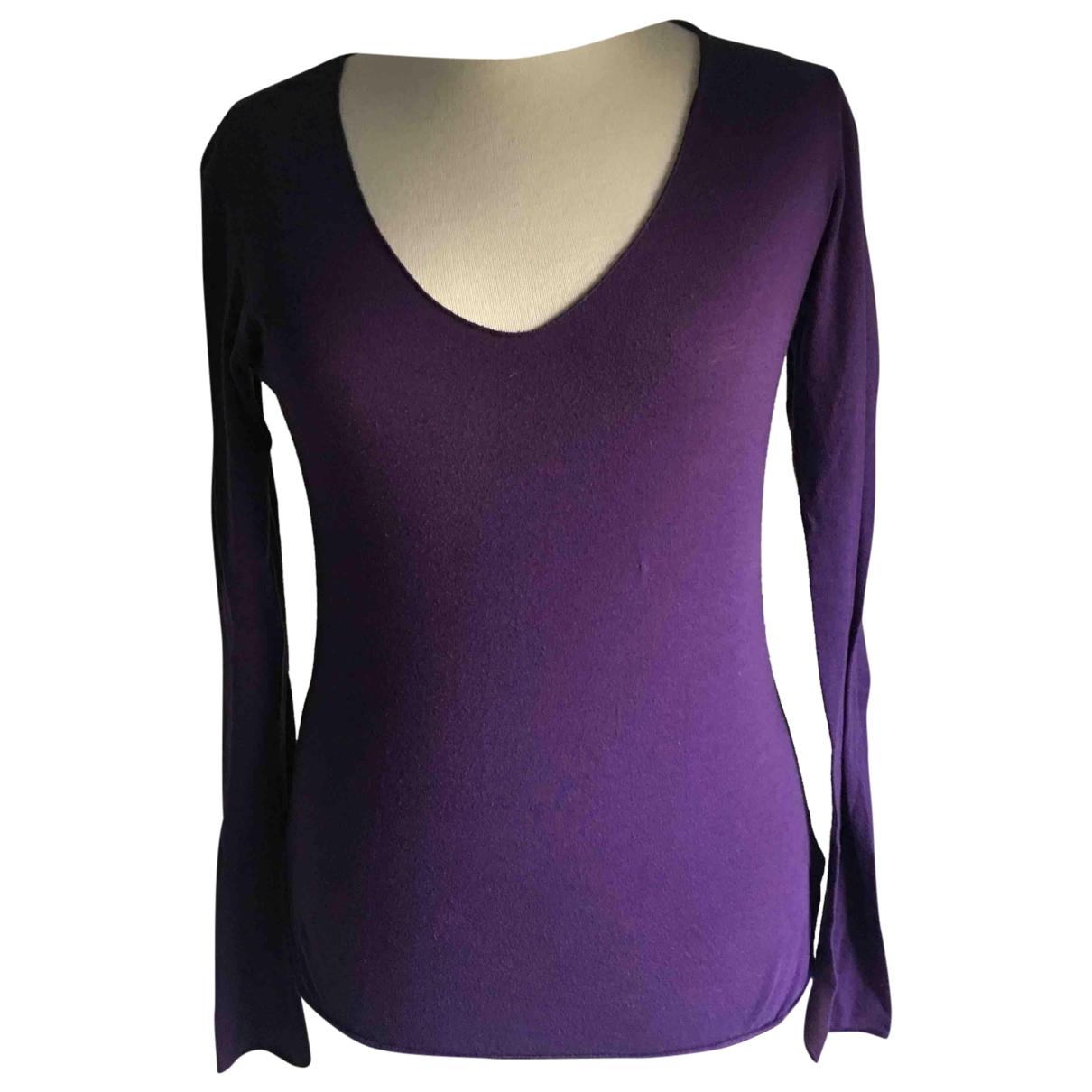 Joseph - Top   pour femme en coton - violet