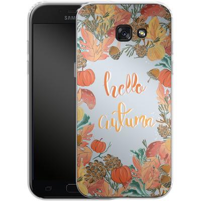 Samsung Galaxy A5 (2017) Silikon Handyhuelle - Hello Autumn von Mukta Lata Barua