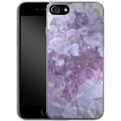 Apple iPhone 7 Silikon Handyhuelle - Light Crystals von Emanuela Carratoni