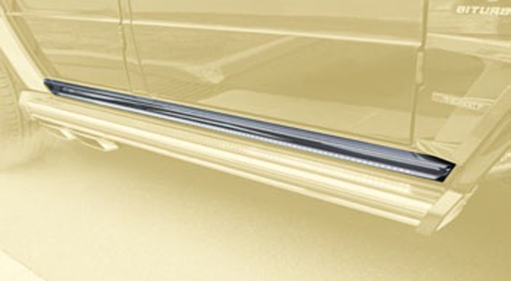 Mansory 66G 540 111 Glossy 6x6 LED Illuminated Entrance Panels Mercedes-Benz G-Class W463 99-17