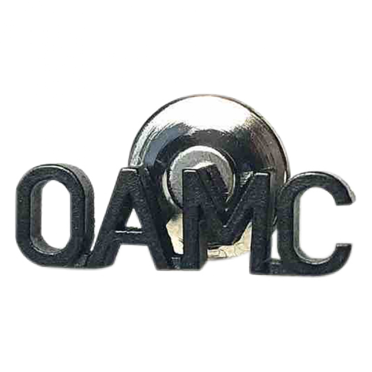 Oamc \N Schmuckstuecke in  Schwarz Metall