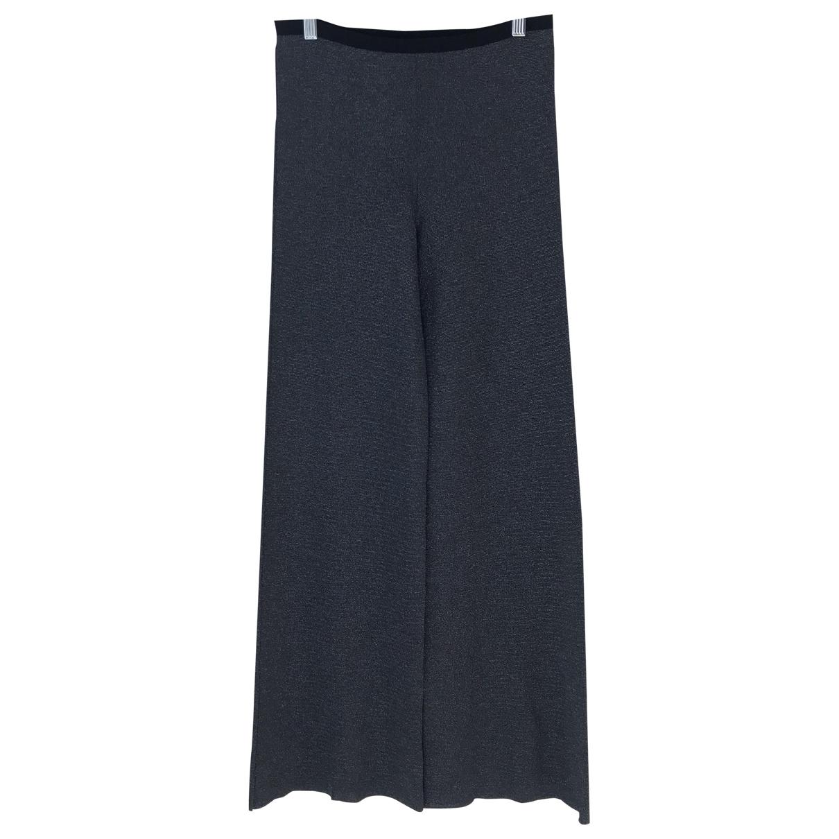 Jucca - Pantalon   pour femme - argente