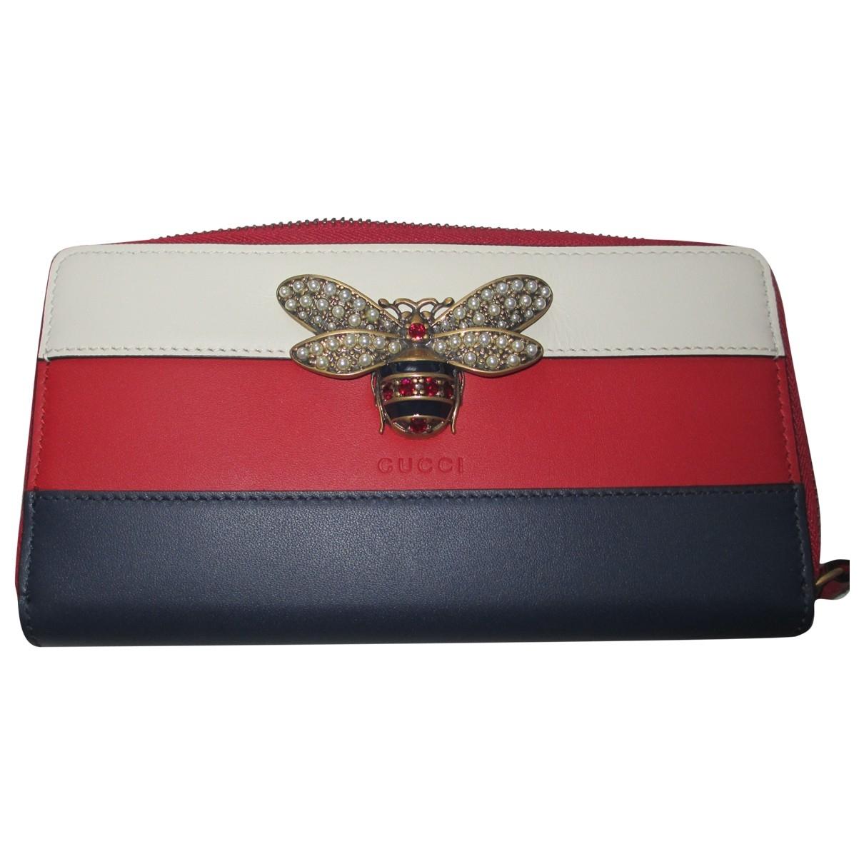 Gucci - Portefeuille Queen Margaret pour femme en cuir - multicolore