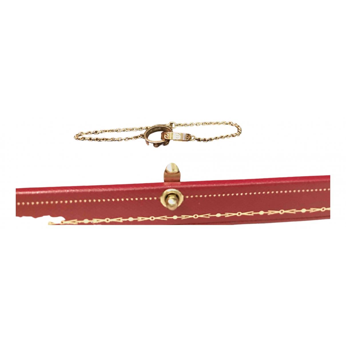 Pulsera Love de Oro rosa Cartier
