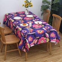 Flower Print Table Cloth