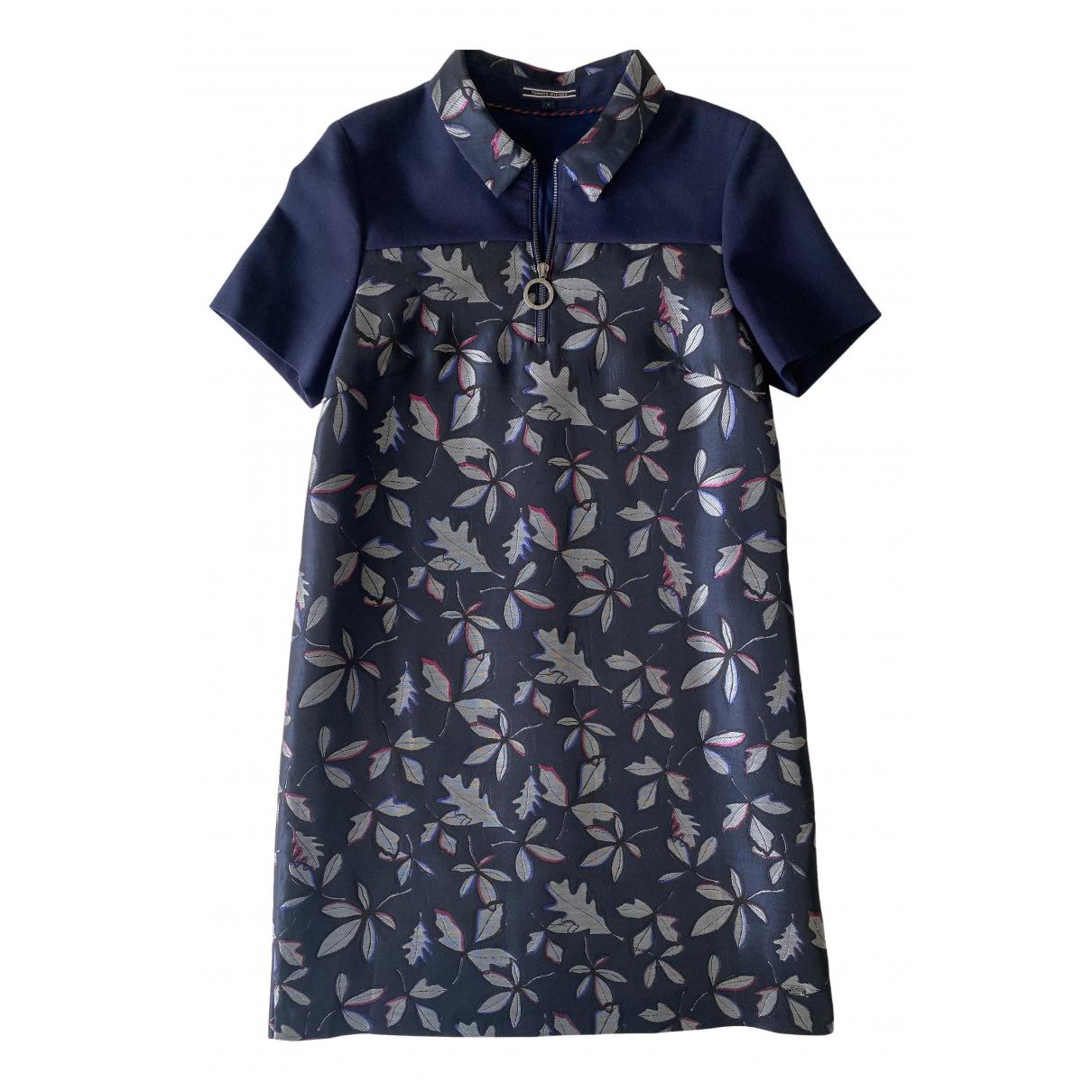 Tommy Hilfiger \N Kleid in  Marine Polyester