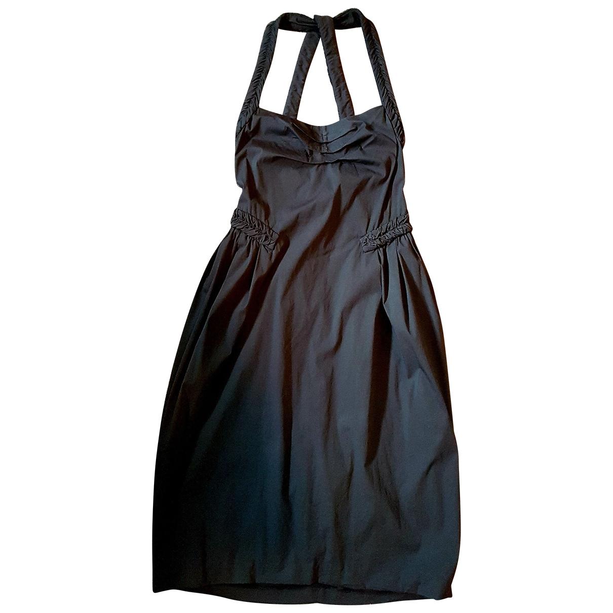 Yves Saint Laurent - Robe   pour femme en coton - noir