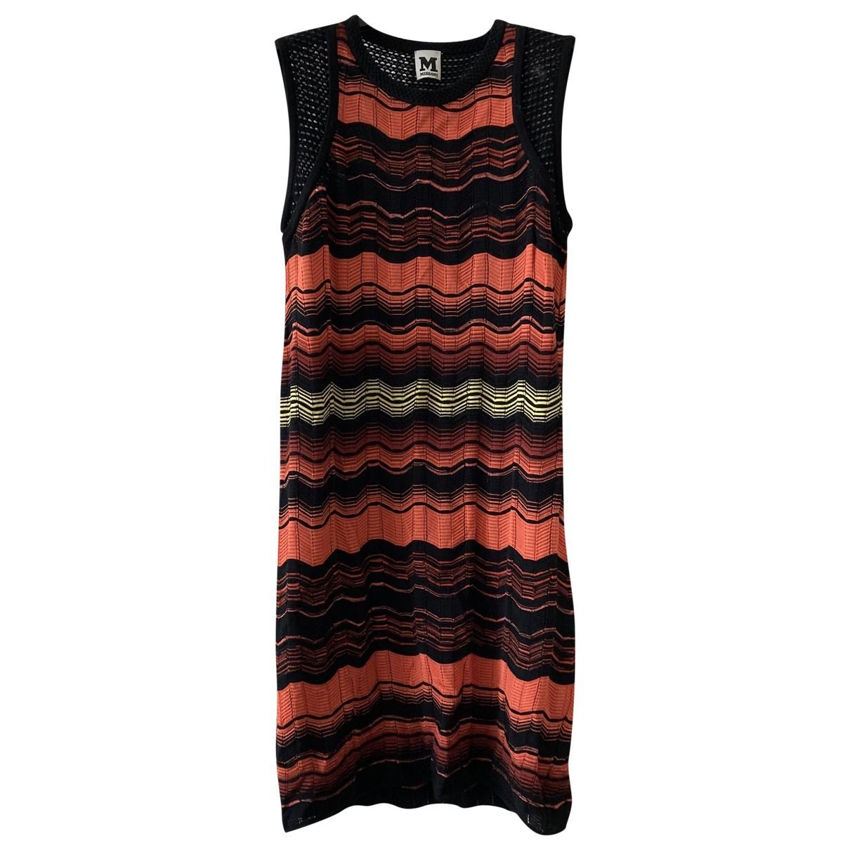 M Missoni \N Kleid in  Orange Viskose